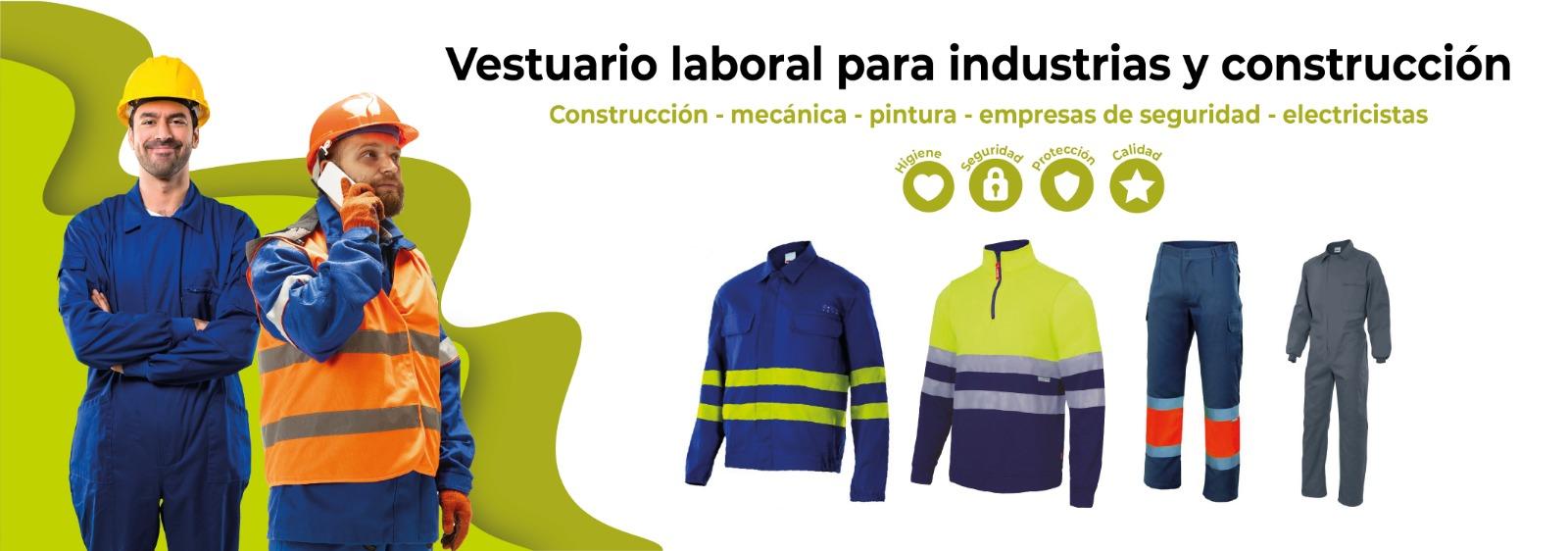 Vestuario industrial y construcción